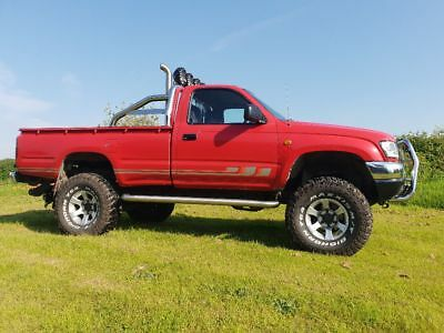 Toyota hilux 05 monster truck custom built by a toyota specialist and ATM
