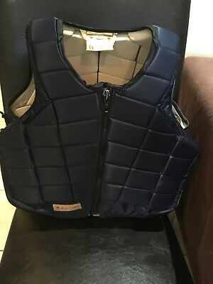 Childs Racesafe Body Protector Size Large Short - Excellent Condition