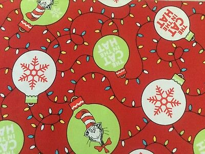 The Cat In The Hat Christmas Decorations Fabric