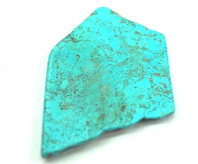 Natural Attractive Quality 316 Ct Arizona Mine Sky Blue Turquoise Slab Gemstone