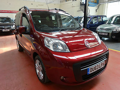63 Fiat Doblo Ride Up Front    Wheelchair Adapted Disabled Vehicle