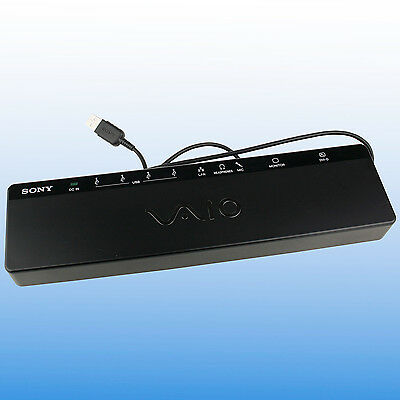 Sony Vaio VGP-UPR1A USB 2.0 Docking Station Port Replicator Inc Power Supply