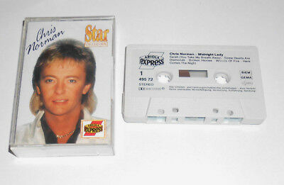 Kassette / Midnight Lady von Chris Norman (Smokie) (1991) / BMG Ariola 495 724