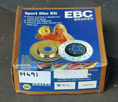 MG ZR ZS 120 1.8 EBC Front Discs Pair Clearance New ZR/S 120