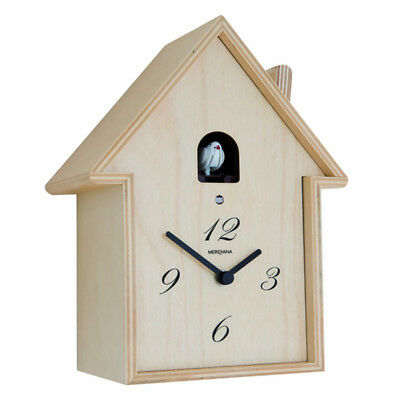 MERIDIANA 220 birch Wooden Wall Cuckoo Clock