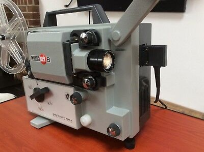 EUMIG MARK 8 Movie projector Super-8 & Standard 8mm film. A1 condition.