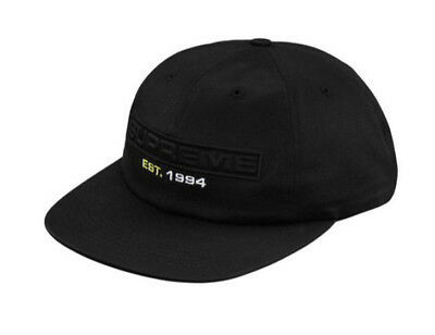SUPREME TARPON 6-PANEL Hat (Black) -  30.00   PicClick 8dae74312a