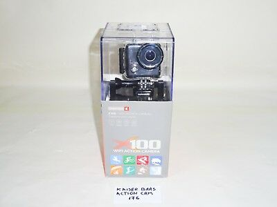 Kaiser Baas X100 Waterproof Sports Action Camera With Casing & Wi-Fi Enabled