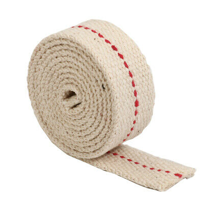 100cm Long White Flat Cotton Oil Lamp Wick Roll For Oil Burn Lamps and Lanterns