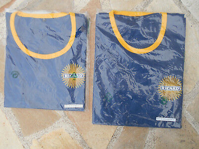 Lot de 2 maillots RICARD DIFFERENTS taille L