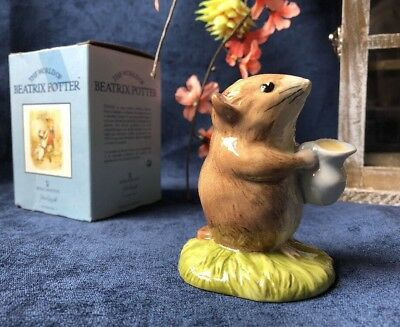Beatrix Potter TIMMY WILLIE FETCHING MILK FIGURINE Beswick Royal Doulton- BOXED2