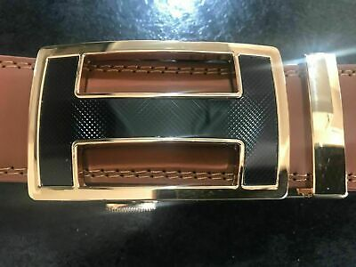 NEW SILVER GOLD CROWN MENS DESIGNER BELTS FOR MEN AUTOMATIC LEATHER BELT LUXURY