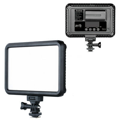 Ultra-thin LED Video Light Dimmable On-Camera Panel for Canon Nikon Pentax DSLR