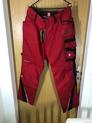 Engelbert Strauss Bundhose e.s.motion Winter Gr. 56 Rot