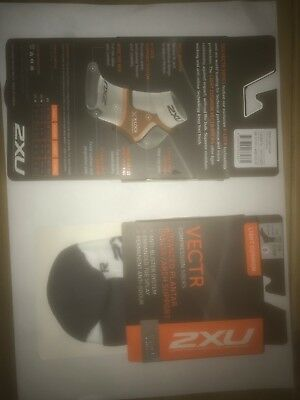 2XU compression socks size medium 2 pairs £10