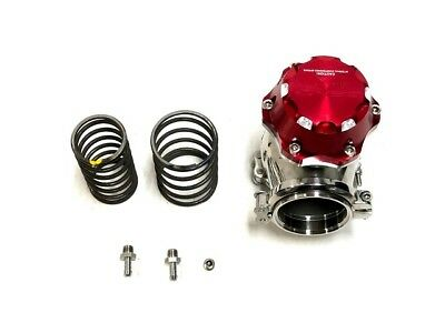 OBX Red Anodized Aluminum 60mm External Wastegate