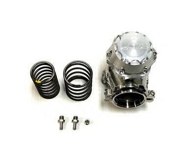 OBX Silver Anodized Aluminum 60mm External Wastegate