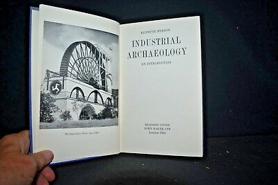 Kenneth Hudson - INDUSTRIAL ARCHAEOLOGY: An Introduction, HC, 1964