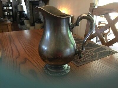 Vintage 1847 Rogers Bros Remembrance IS 9817 Water Pitcher Silverplated