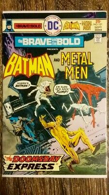 The Brave And The Bold #121 (1975) DC!  Batman/Metal Men!  PRICED TO SELL!