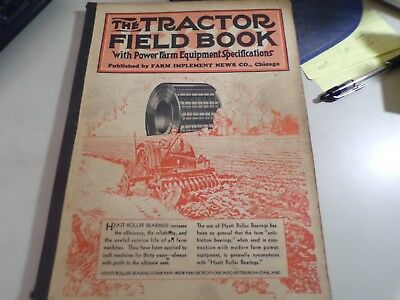 The Tractor Field Book 1930