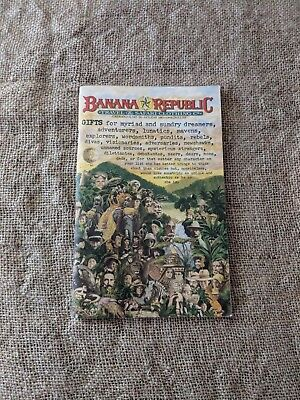 Vintage Banana Republic Catalog - No 26 Holiday 1985