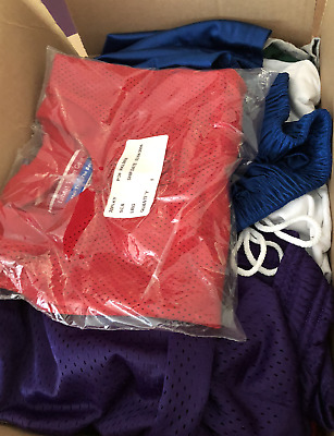 Lot Grab Bag Box 10 New Sports Shirt Short Jerseys All New To Wholesale Resale