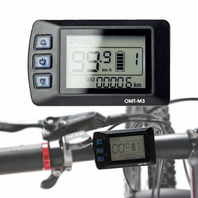 OMT-M3 36V/48V eBike LCD Display Panel for Electric Bicycle Bike Controller AU