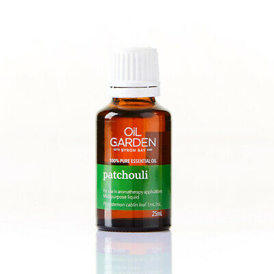 Oil Garden Patchouli 100% Pure Essential Oil Therapeutic Aromatherapy 25ml