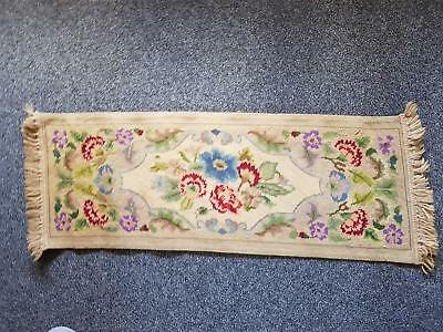 Antique Gobelin Tapestry Hand Made Panel Runner 1930