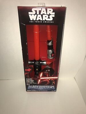 DELUXE RED Kylo Ren Electronic Lightsaber STAR WARS:The Force Awakens! Brand new
