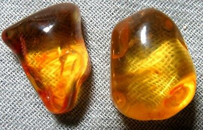 Natural Russian Baltic Amber  Stone  #10