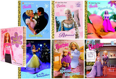 Little Golden Book: The Best of Barbie Box Set by Barbie Staff