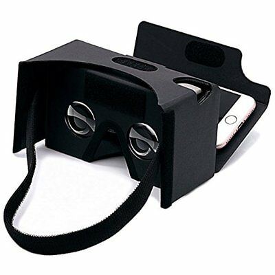 Google Cardboard,GANA 3D VR Headset Virtual Reality DIY Glasses Box With Big And