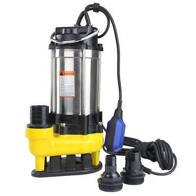 550W Sewage with Flow Rate 300 L/min Discharge Head 10M
