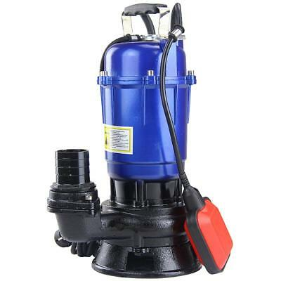 550W Dirty Water Pump Dive Pump With Flow Rate 300 L/min Discharge Head 10 M