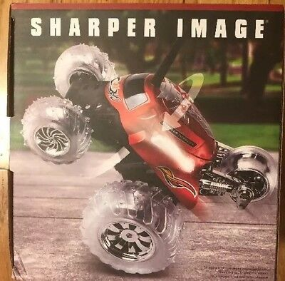 Sharper Image 2 In 1 Rc Flip Stunt Rally Car With Remote Controller