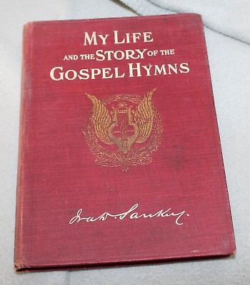My Life and the story of the Gospel Hymns Ira Sankey Sales Copy/Order form 1906
