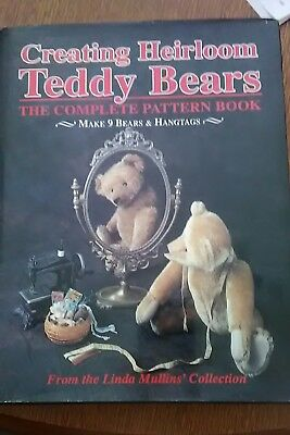 Creating heirloom Teddy bears from the Linda Mullins collection