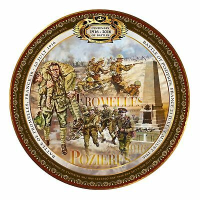 Fromelles And Pozieres Commemorative Plate