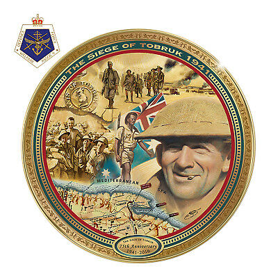 Siege of Tobruk Commemorative Plate