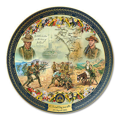 The Legend of Gallipoli 95th Anniversary Tribute Plate