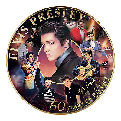 Elvis on Record 60th Anniversary Plate