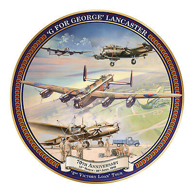 G For George 70th Anniversary Tour Plate