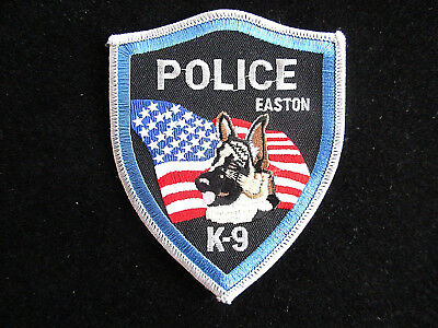 Police, USA, Pennsylvania, K-9, Easton, Patch, Uniform, Abzeichen,