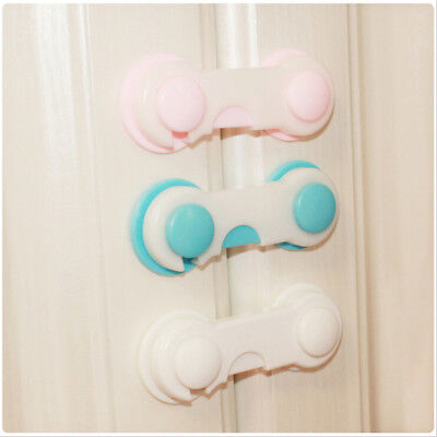 1x Baby Drawer Lock Kid Security Protect Cabinet Toddler Child Safety Lock SE
