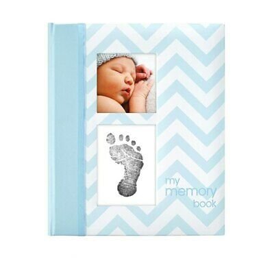 NEW Pearhead Chevron My First Memory Baby Book from Baby Barn Discounts