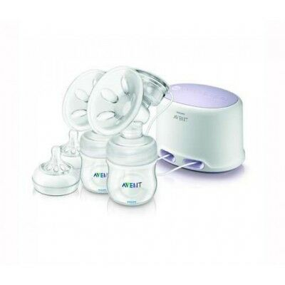 Philips Avent Twin Electric Breast Pump + Baby Bottle - New
