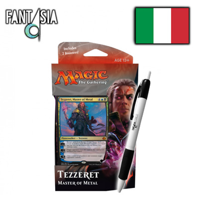 Tezzeret, Maestro del Metallo (IT) - Pw Deck Rivolta dell'Etere + penna Fantàsia