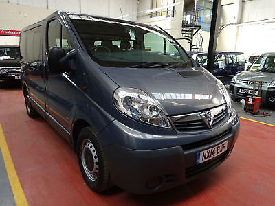 14 Vauxhall Vivaro 7 Seater Wheelchair Adapted Disabled Vehicle